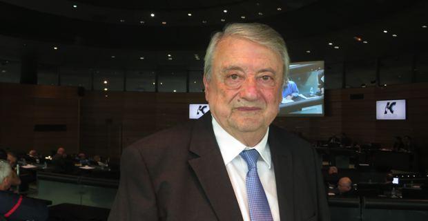 Paul Peraldi, conseiller général du canton de Vezzani et rapporteur de la commission des finances, de l´économie et de l´administration générale.