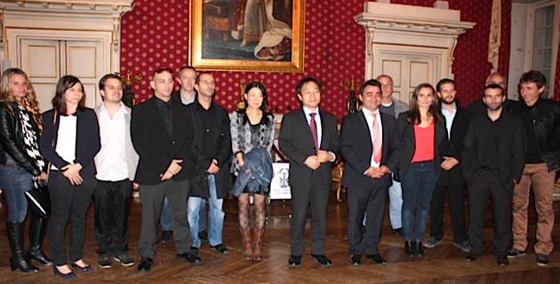 Ajaccio : Le consul général-adjoint du Japon reçu à la mairie