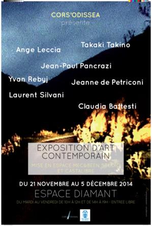 Jusqu'au 5 décembre l'exposition Cors'odissea sera à l'Espace Diamant