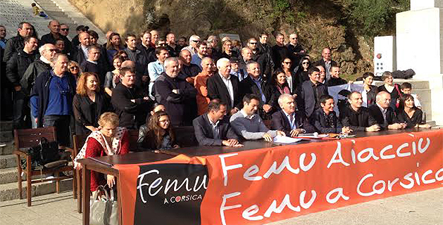 """Femu Aiacciu-Femu a Corsica : """"Un'altra manera di fà"""""""