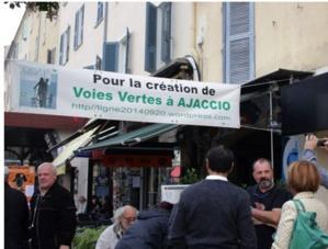 Pour des voies vertes à Ajaccio