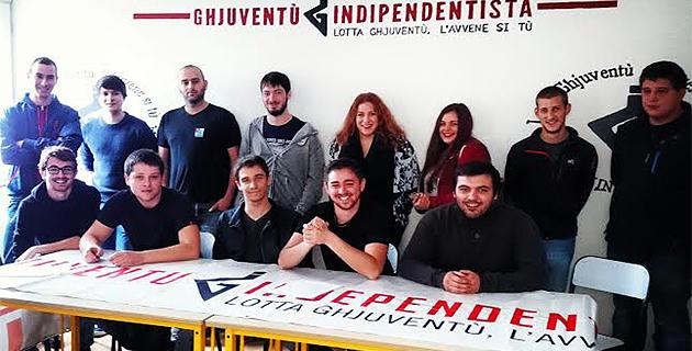 """Ghjuventù Indipendentista : """"U Populu corsu camperà"""" mot d'ordre de la manifestation du 3 Décembre à Corte"""