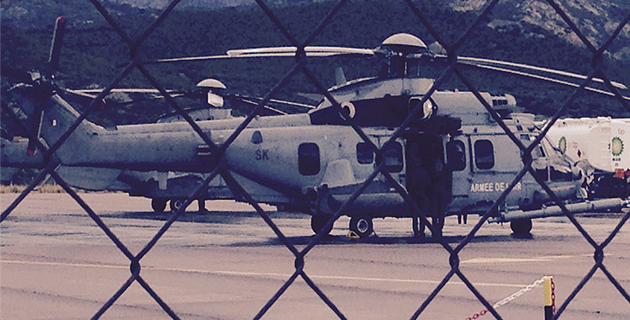 Visite-éclair du ministre de la Défense à Calvi