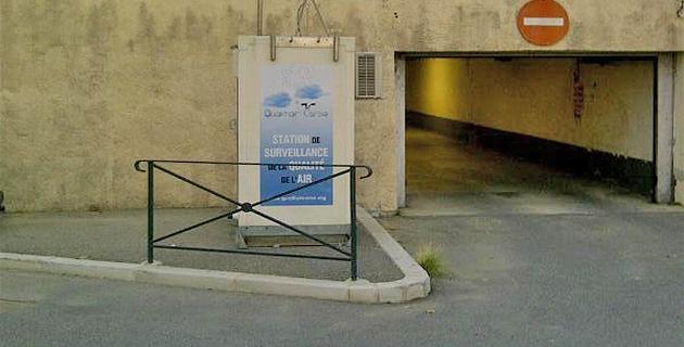72.9 microgrammes par mètre cube en moyenne journalière sur la station trafic de Saint-Nicolas