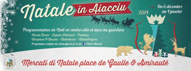 Le marché de Noël d'Ajaccio ouvre !