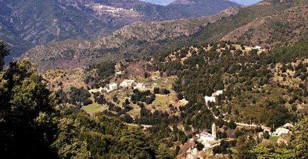 Intercommunalité de la vallée du Golu, commune de San-Lorenzo.