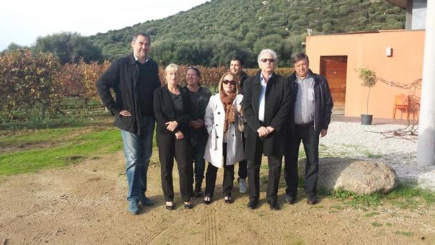 La sous-préfète de Calvi au Clos Colombu et  à Sant'Ambroggio