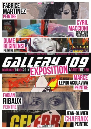 Casamozza : Le Pop Art s'expose à la Gallery 109