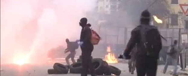 Corte : La manifestation dégénère