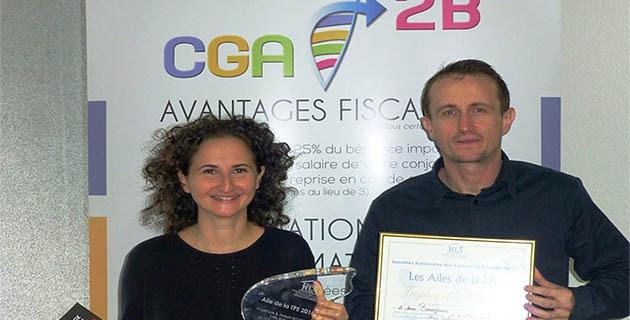 Le trophée national de la petite entreprise distingue la Sarl Sud-Hôtel de Bastia