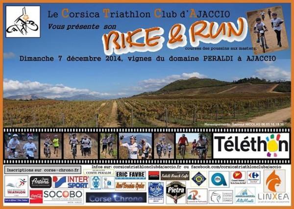 Dèjà près de 300 inscrits pour le Bike and Run du CTCA en faveur du Téléthon !
