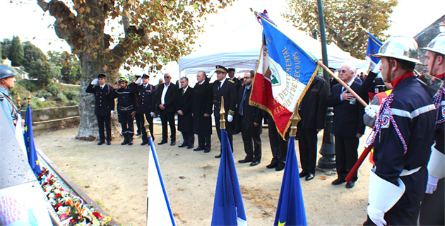 Le Sdis de Haute-Corse fête Sainte Barbe à Lucciana
