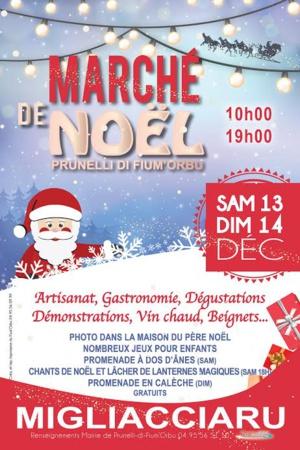 Prunelli-di-Fium'Orbu : Marché de Noël samedi et dimanche
