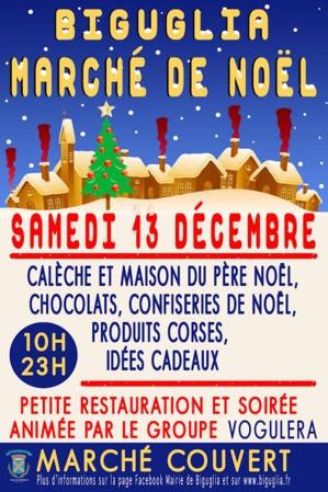 Biguglia : Samedi le marché de Noël de la municipalité
