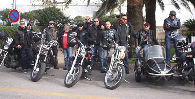 Parade calvaise et baptêmes avec les motards Harley Davidson du Liberta Vox Riders Corsica