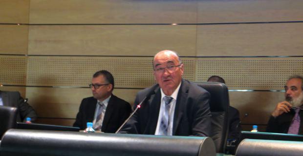 Joseph Castelli, président du Conseil général et sénateur de Haute-Corse.