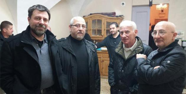 Bastia  : L'associu Guardia Corsa Papale reçu par l'arcicunfraternita di San Ghjiseppu