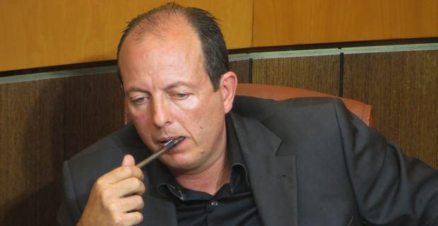 Paul-Félix Benedetti, conseiller territorial et leader d'U Rinnovu Naziunali.