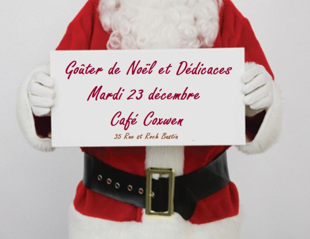 Bastia : Goûter de Noël et dédicaces au Coxwen café