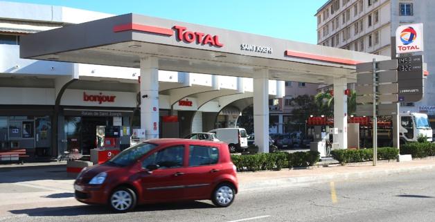 Total : L'Excellium diesel en avant-première mondiale en Corse