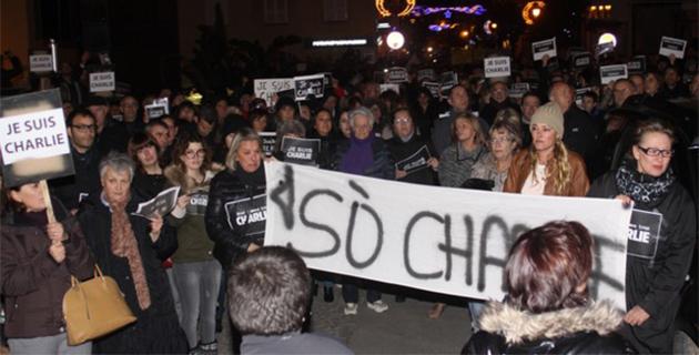 Plus de 500 personnes à la marche silencieuse de Calvi