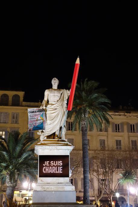 """""""Je suis Charlie"""" : Des photos pour perpétuer le mouvement avec CNI"""
