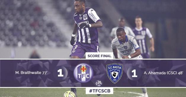 Le Sporting ramène un point précieux de Toulouse