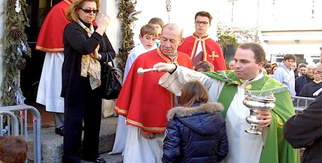 Porto-Vecchio : La traditionnelle bénédiction des troupeaux
