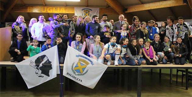 Biguglia : Les champions récompensés