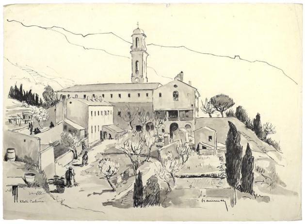 Le couvent de Corbara et…