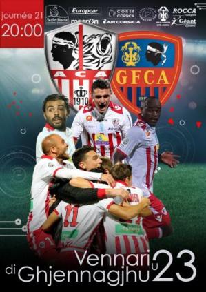 "Jour de derby à Ajaccio : ""Evviva  Aiacciu"" !"