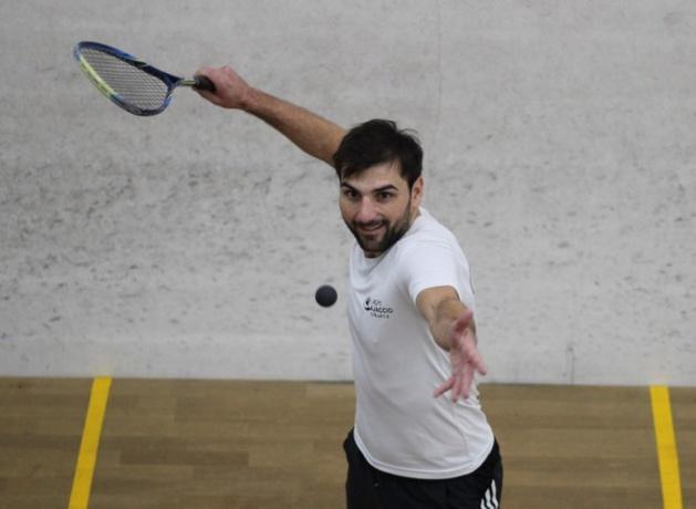 Championnats de Corse de squash 2eme série à L'Ile-Rousse : Fabrice Mattei au-dessus du lot