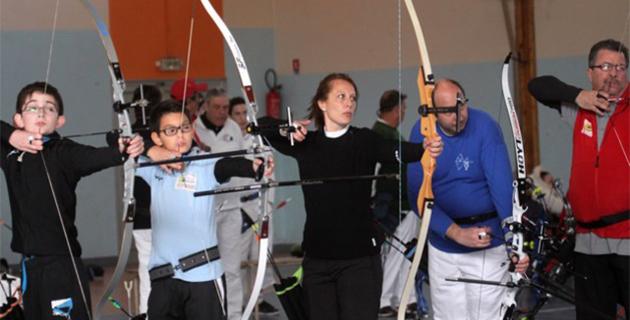 De beaux championnats de Haute-Corse de  tir à l'arc à Calvi