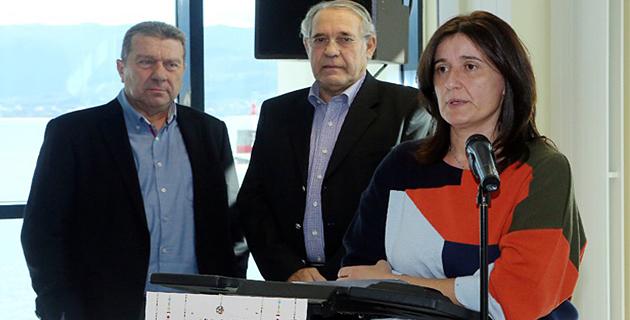 Nathalie Carlotti dans ses fonctions de présidente de la CCI 2A : Une image que l'on ne reverra plus