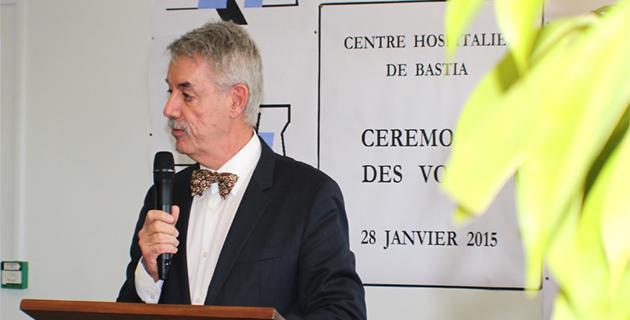 Bastia : Pascal Forcioli nouveau directeur du centre hospitalier