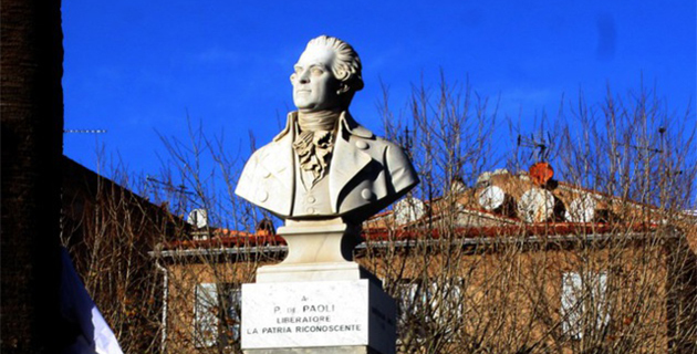 La mort de Pasquale Paoli commémorée jeudi à L'ile-Rousse