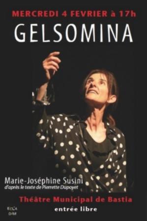 "Au théâtre de Bastia : Marie-Joséphine Susini est ""Gelsomina"""