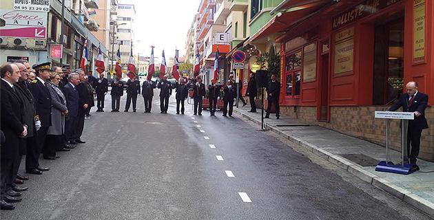 Ajaccio : Bernard Cazeneuve rend hommage au préfet Erignac