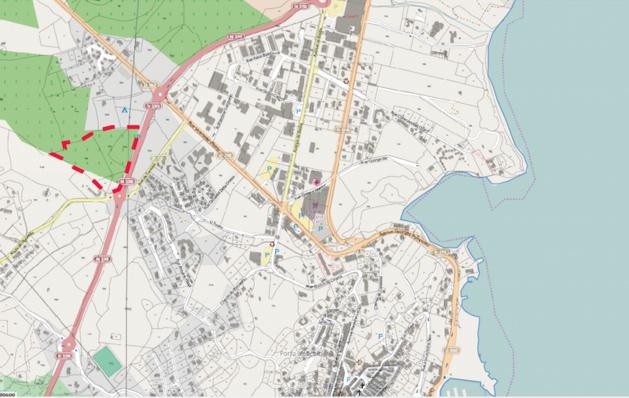 La localisation du projet