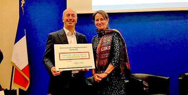 Bastia : La CAB lauréate des territoires a énergie positive pour la croissance verte