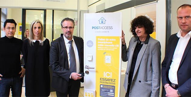 Bastia : La Poste propose une solution connectée pour accéder à son domicile