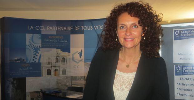 Martine Castellani, en charge du service apprentissage à la CCI2B.