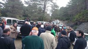 Vezzani et U Petrosu : Mouvement de grogne sur la route départementale 343