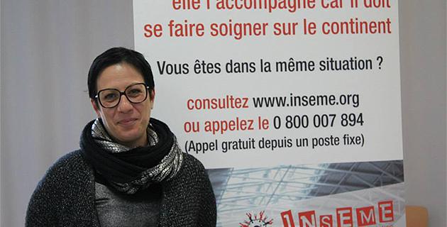 Anne-Marie Orticoni, vice-présidente d'Inseme