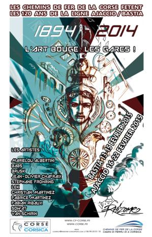 Les Chemins de Fer de la Corse fêtent les 120 ans de la ligne Ajaccio-Bastia