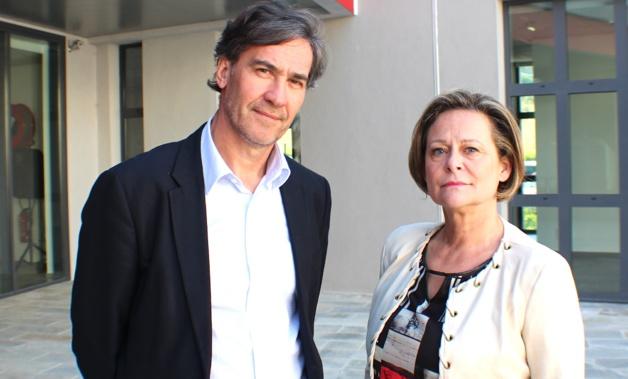 Le docteur Dominique Sappey-Marinier et Catherine Mercier-Benhamou
