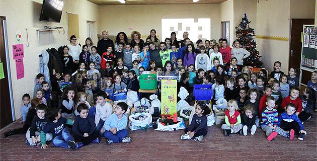 Biguglia : L'école de Campo-Vallone se distingue au concours du Syvadec