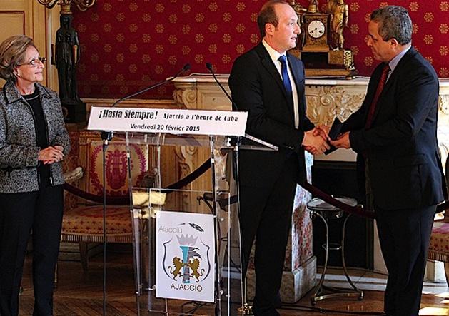 L'Ambassadeur de Cuba à Ajaccio : Attachement à la ville, à Napoléon et à la culture