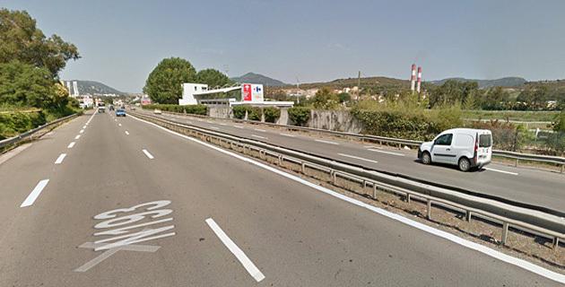 Routes : Travaux de sécurisation au niveau de l'hippodrome d'Ajaccio