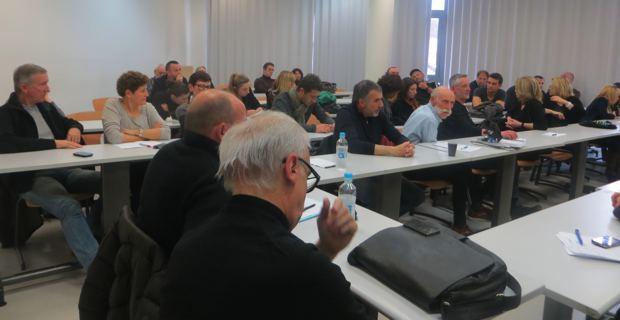 Les représentants des Comités des territoires et des adhérents.